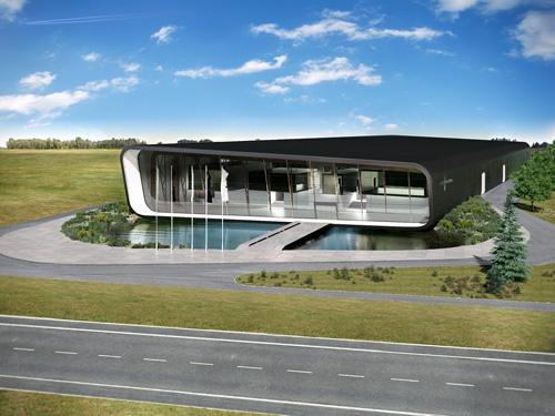 Swiss Property AS tootmishoone, Rae vald, Harjumaa
